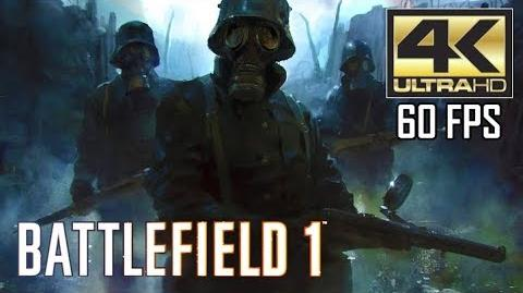 "ᴴᴰ Battlefield 1 PC - ""The Runner"" 【4K 60FPS】 【NO HUD】【MAX SETTINGS】"
