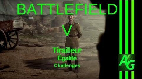 ✪ Battlefield V Tirailleur - Egalite - Challenges