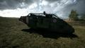 BF1 Mark V Landship Mortar Left