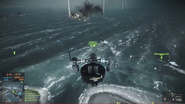 Battlefield 4 MAV Third-Person View Screenshot