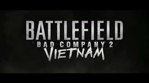 Battlefield Bad Company 2 Vietnam - E3 Announcement Trailer