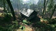 Argonne Forest Frontlines Hunter's Cabin 02