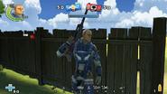 Royal Commando with MK1 Bad Boy
