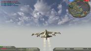 Su-25 Third person view BF2