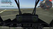 AH-1Z Cockpit view without HUD BF2