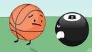8-Ball and Golf Ball 25