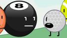 8-Ball and Golf Ball 3