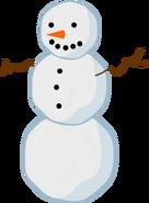BFDI Snowman