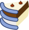 One slice of Ice Cream Cake