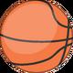 Basketball Looking Up