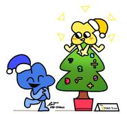 X and four christmas