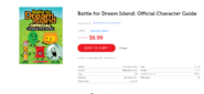 BFDI Official Character Guide Scholastic Store listing