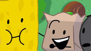 Spongy and Barf Bag in BFB 15