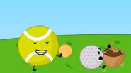 Ricecaketennisball