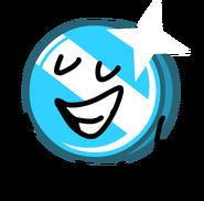 Blue Shiny Coiny