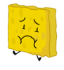 Spongy - scared because taco in bfb 19
