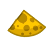 One slice of the Cheese Orb