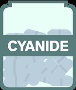 Cyanide Jar Open
