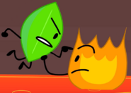 Firey and Leafy angry lol