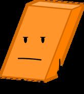 BFDI Orange Eraser