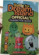 BFDI Official Character Guide cover
