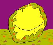 Yellow face vomit