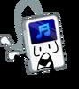 Portable music scar