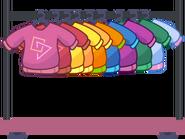 Flower clothes rack