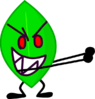 Leafy holding flower but without flower