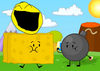Yellow Face, Spongy and Bomby