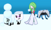 Ice Cube and the Guardian Gardevoir