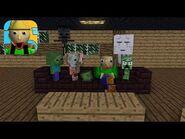 Monster School - BALDI'S HOUSE ESCAPE CHALLENGE - Minecraft Animation