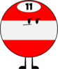 Eleven Ball (Pose)