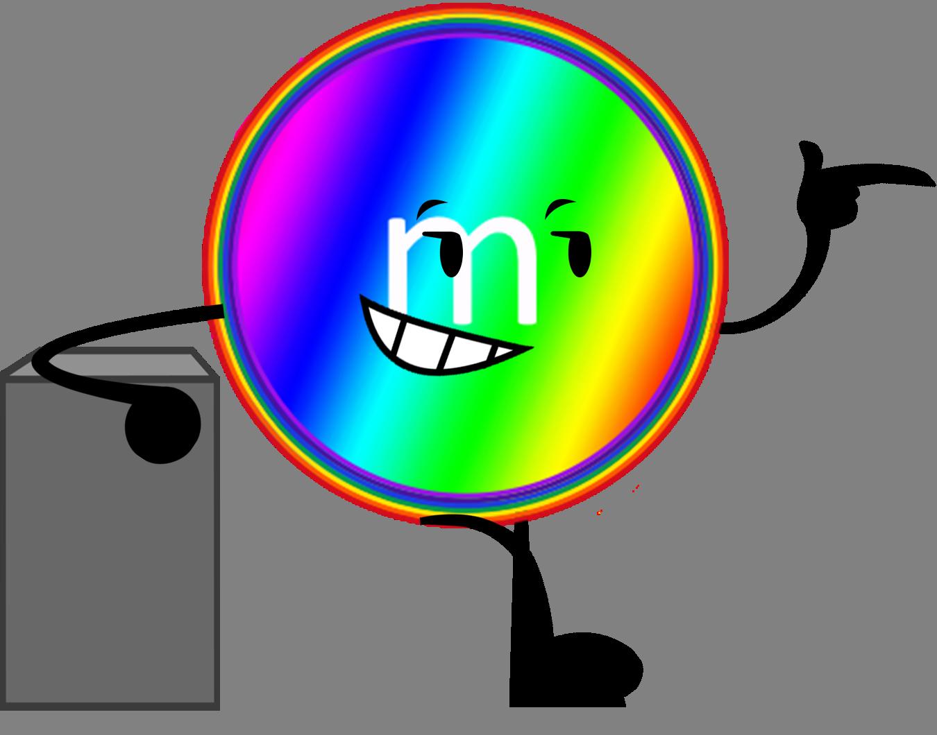 Rainbow M&M