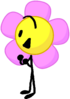 Flower clying