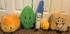 Firey, Firey Jr, Leafy, Pen and Woody plush