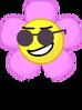 Flower wearing shades