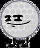 Golf Ball's Smug Face