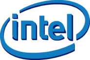 Intel Logo New Body Without Glasses