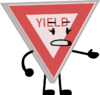 Yield Sign pose TOSL