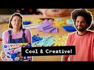 Design ideas and creative inspiration with the LEGO DOTS Creative Design Box – Designer Video