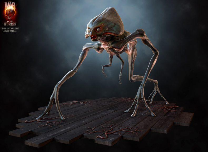 Tripodis Alien