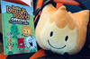 Firey Plush with BFDI Character Guide Book