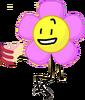 Flower holding cake 1