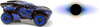 Black Hole (BFDI) and his Vehicle (BFIOR)