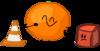 Orange is small