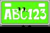 License Plate (Pose)