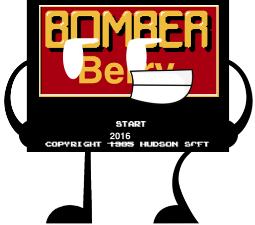 Bomberberry Title Screen