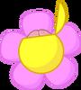 Flower's opened brain