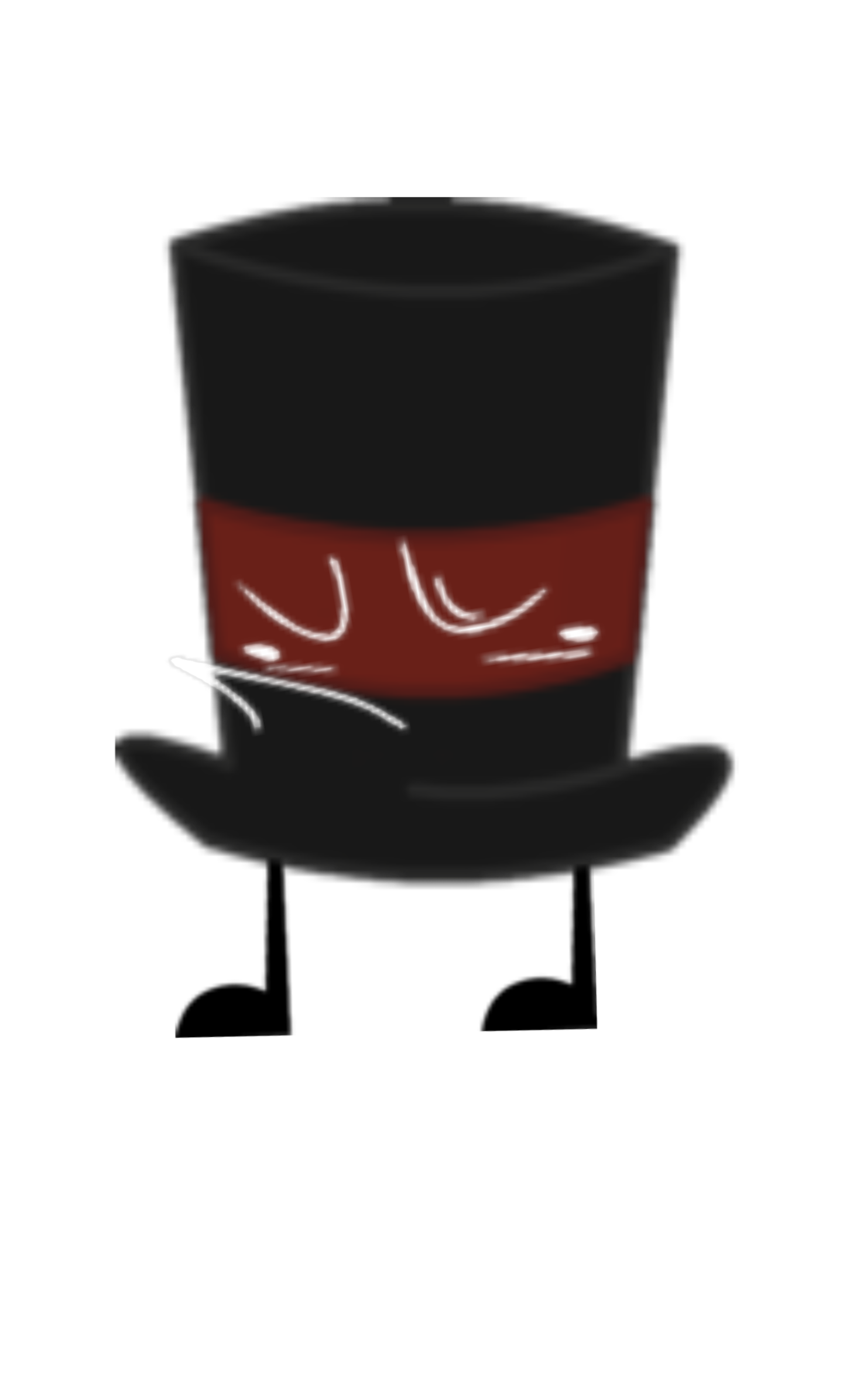 Maroon Top Hat
